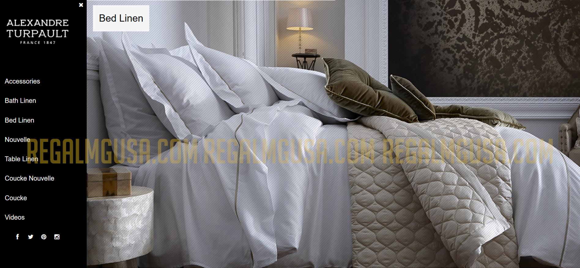 Alexandre Turpault Regal MG Ecommerce Website Screenshot
